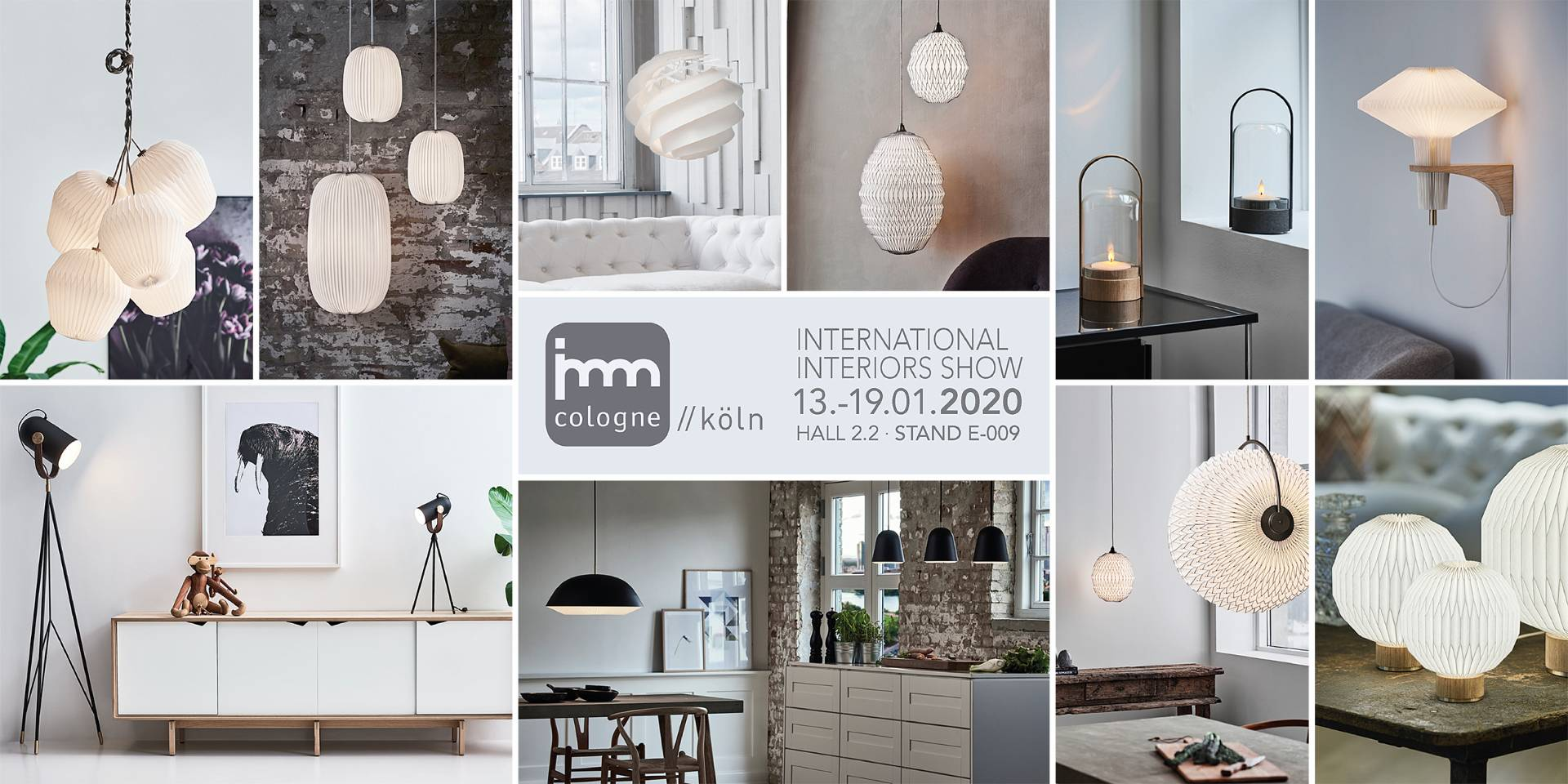 Meet us at IMM Cologne Fair 13-19 January 2020