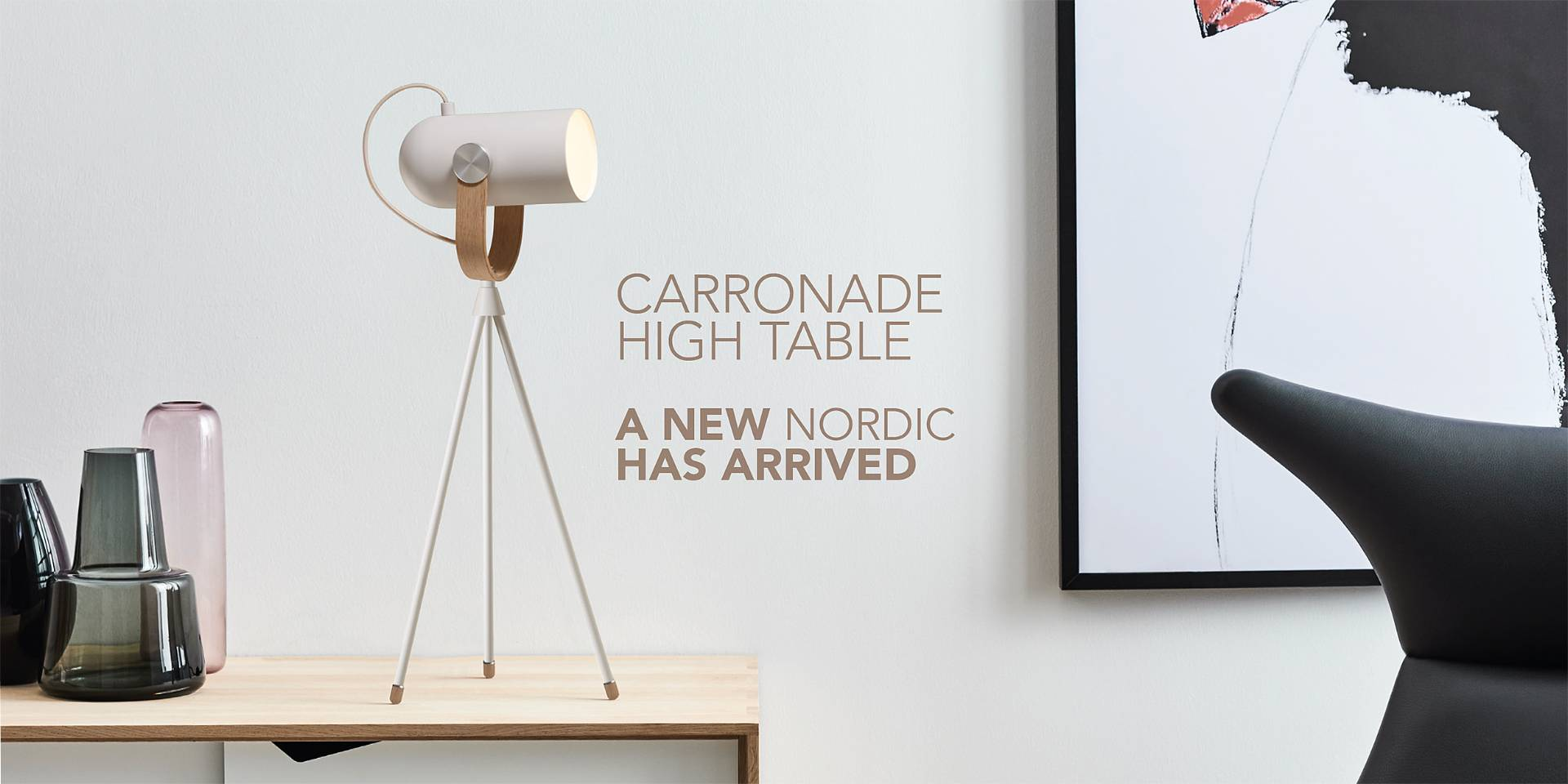New Nordic table lamp
