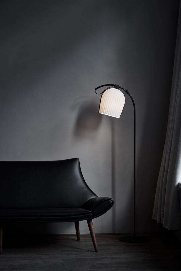 ARC Floor Lamp Black
