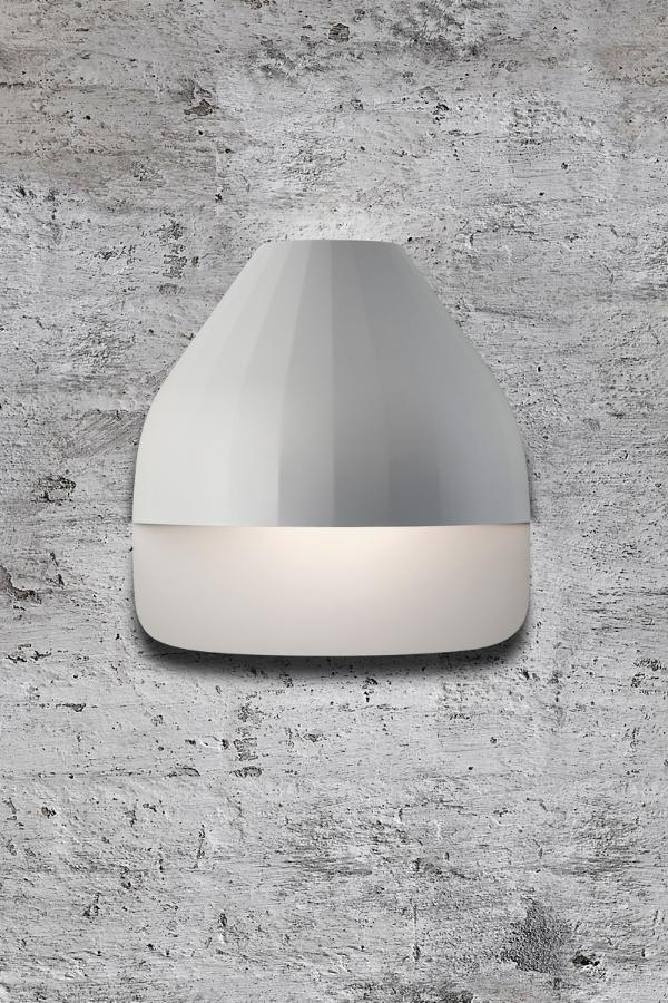 FACET Small Plate Light Grey