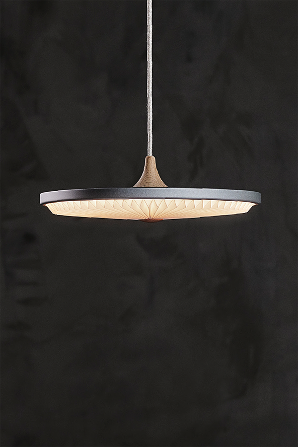 SOLEIL Small Standard Silver Cloud with CASAMBI dimmer