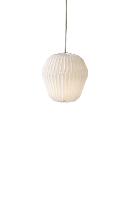THE BOUQUET Large single pendant with paper shade