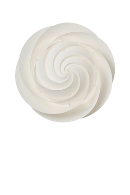 SWIRL Ceiling/Wall Medium White