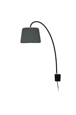 SNOWDROP 220 Wall Lamp Anthracite