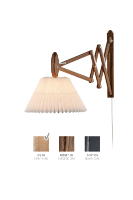 LE KLINT SAX 223 - 2/17 - Light oak with paper shade