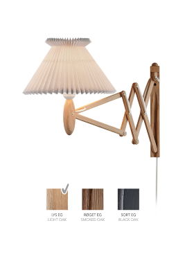 LE KLINT SAX 224 - 6/17 - Light oak with paper shade