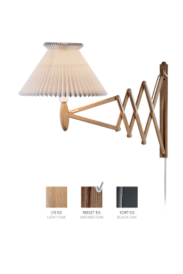LE KLINT SAX 234 - 6/21 - Smoked oak with paper shade