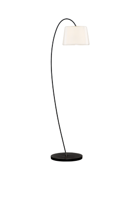 SNOWDROP 320 Floor Lamp Silk White