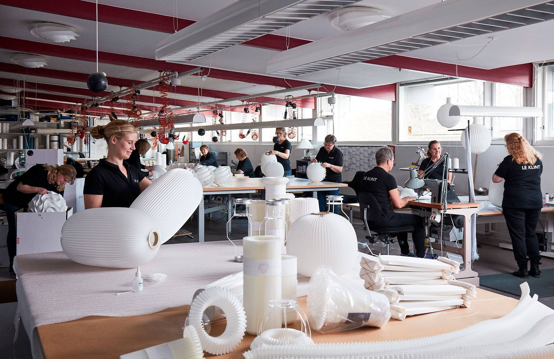 Le Klint Danish Design And Craftsmanship Since 1943 Christmas Lights Wiring Types Behind The Scenes