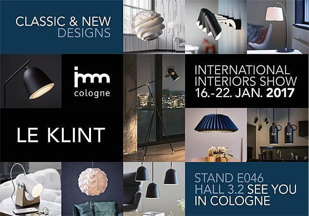 Come and see us at the IMM Fair Cologne