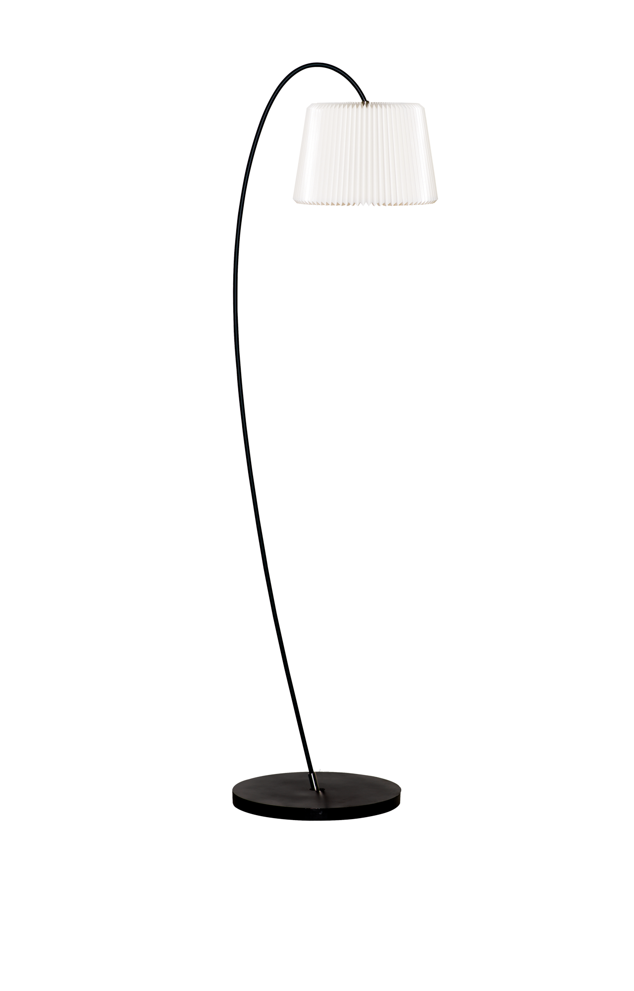 Le Klint Floor Lamp From Series Snowdrop Model 320 Have A Shade Of 35 Cm