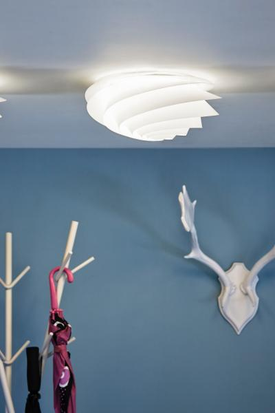 SWIRL Ceiling/Wall Small White