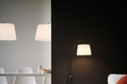 Wall Lamp and  Pendant Snowdrop  Model 220 + 120